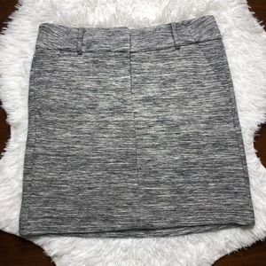 NWT LOFT Heathered Skirt size 4 Petite